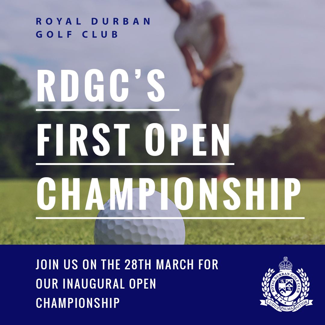 Join RDGC for the Open Championship